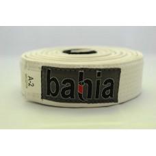 White Brazilian Jiu-Jitsu Wide Belt Bahia