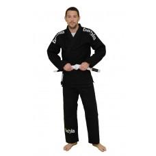 Black Brazilian Jiu Jitsu Elegant Gi Size A1