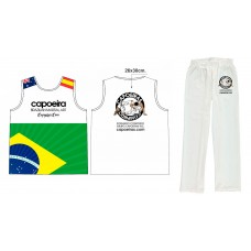 White Uniform Grupo Capoeiras Inc