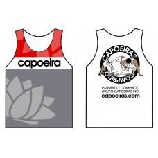Sleeveless cotton tshirt Grupo Capoeiras Red